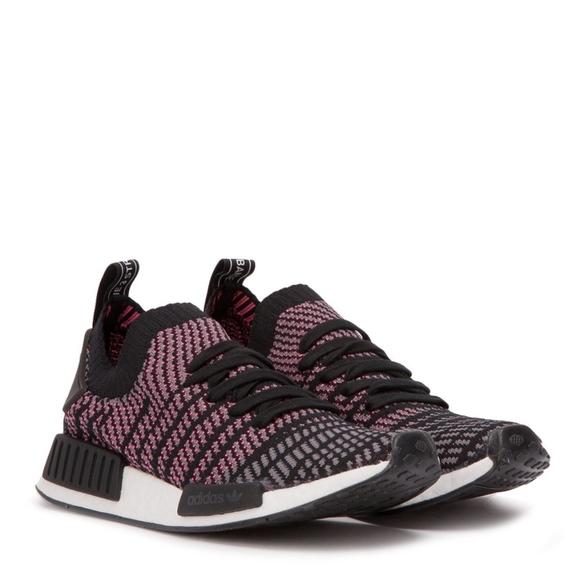 ea52a2022 Adidas NMD R1 STLT Black Pink. Boutique. adidas.  M 5c089086c9bf50b8bf365b3c. M 5c089085e944ba48401bd37c.  M 5c089085df0307dbf0a9072a